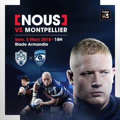 Agen vs Montpellier